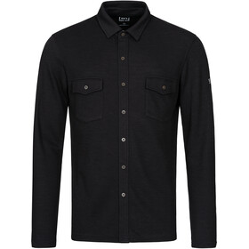 super.natural Wayfarer Pocket Shirt Heren, jet black